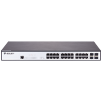 Bdcom S2528-B 24 Port 10/100/1000 Base-T, 4 Port Gigabit SFP Leyer2 Switch