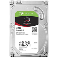 Seagate Ironwolf ST4000VN008 4TB  64 MB, 5900Rpm, SATA