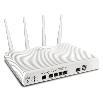 Draytek Vigor 2862ac VDSL2/ADSL2+ WiFi Dual-WAN Security Firewall