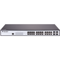 Bdcom S2528PB 24 Port Gigabit PoE, 4 Port Gigabit SFP L2 Switch